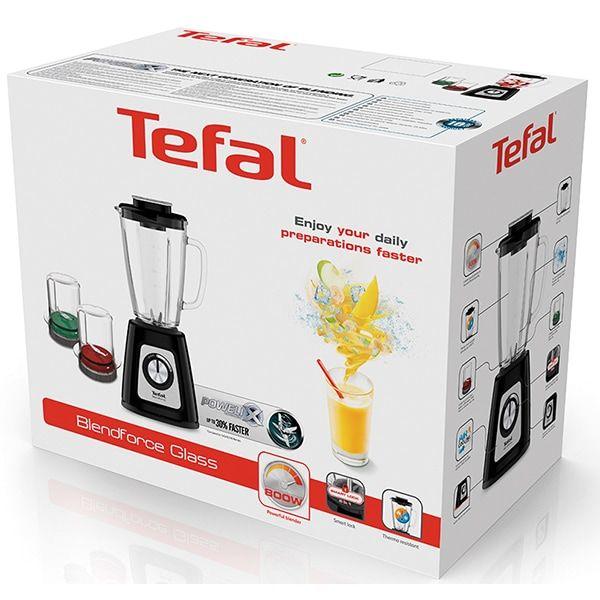 Blender Tefal Blendforce BL435831, 800 W, 1.25 l, Powerlix, Smart Lock