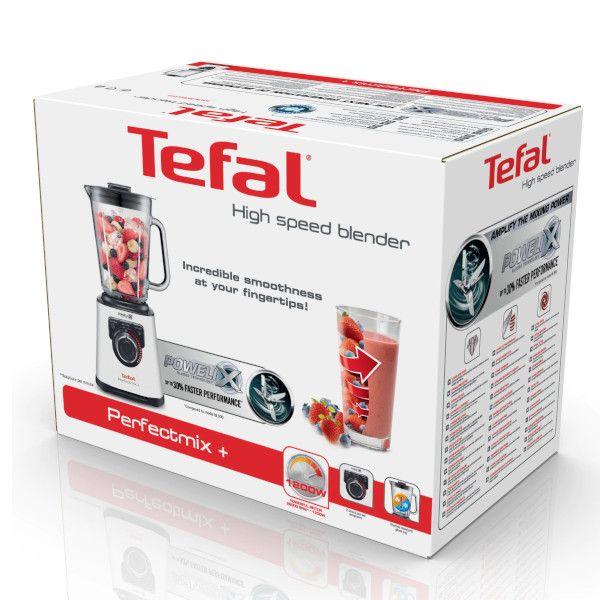 Blender Tefal Perfect Mix+, 1200W, 1.5L, 3 viteze (Gri)