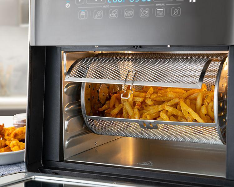 Friteuza-Cuptor cu aer cald, Air Fryer 2000W Breville
