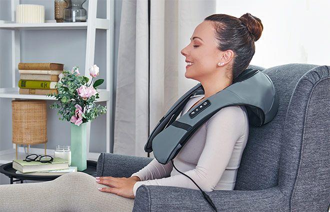 Aparat de masaj 3D Body Shiatsu Tapping Massager Wellneo