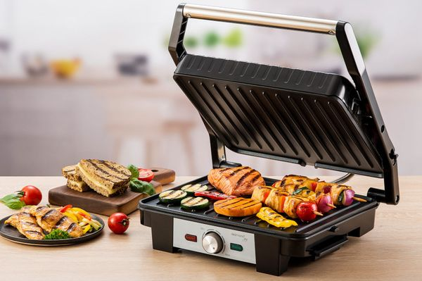 Gratar Electric Contact Grill si Sandwich Maker Delimano Joy (2in1)