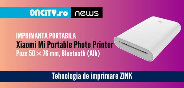 Imprimanta portabila Xiaomi Mi Portable Photo Printer