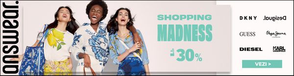 SHOPPING MADNESS de pana la -30%, ANSWEAR.ro